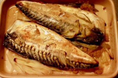 鯖をグリラーで焼いた画像