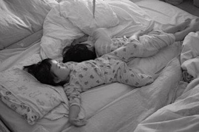 子どもの寝相が悪い