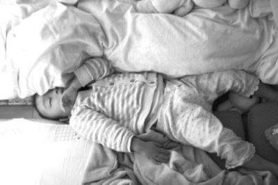 子どもの寝相が悪い2