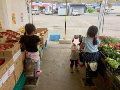 生鮮スーパーかわちや遊具