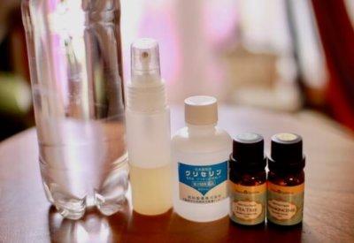 手作り化粧水の材料