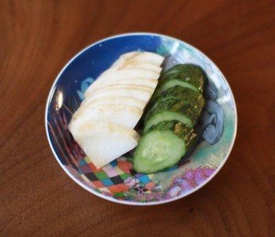 キムチ漬けの野菜