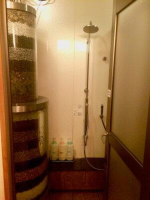 嵐の湯阿賀野店シャワー室
