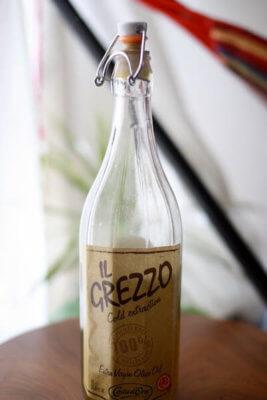 コストコの瓶入りオリーブオイル