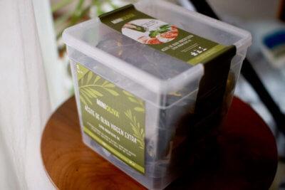 コストコのオリーブオイルパッケージ