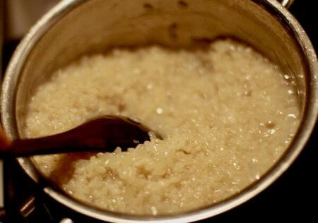 玄米のびっくり炊き手順5