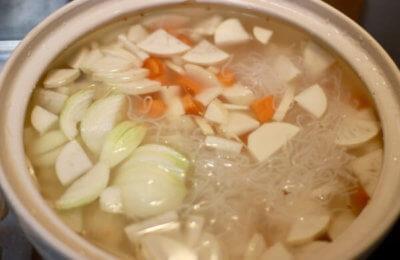 芋煮の作り方1