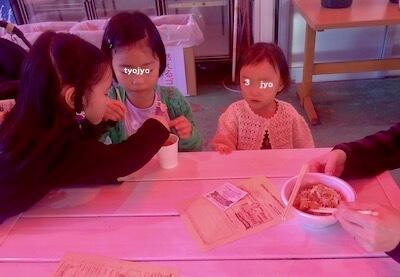 サントピアワールド の飲食ブーステント