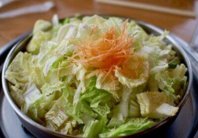 とり野菜まつや桂店の鍋