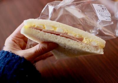 リシェのサンドイッチ