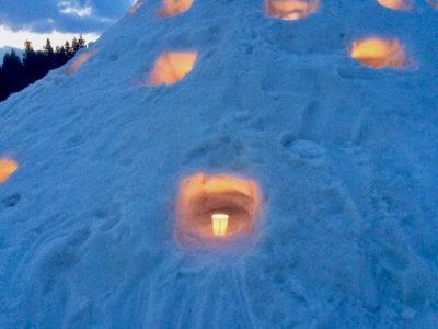 えちごかわぐち雪洞火ぼたる祭