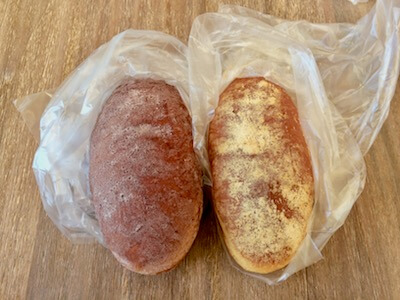 手頃価格の揚げパン
