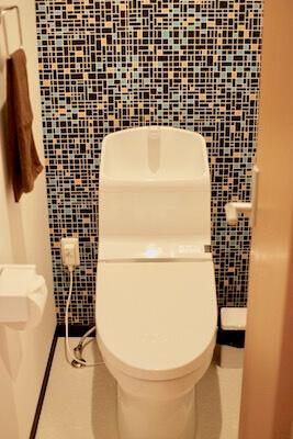 ホテルベースならのトイレ