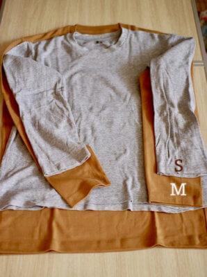 メンズソフトタッチクルーネックTシャツサイズ感