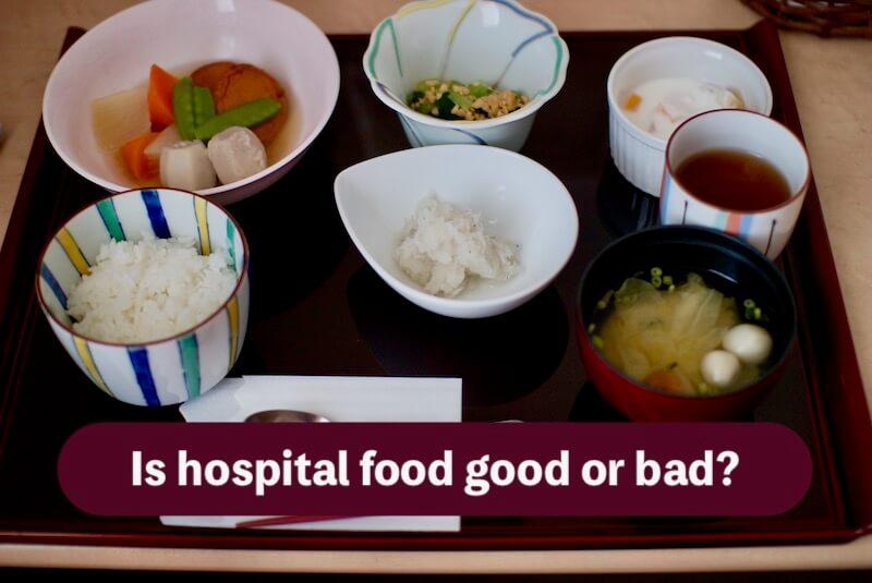 糖尿病などの病院食の画像